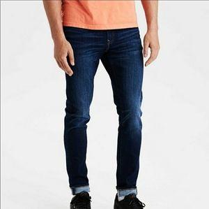 American Eagle  Dark Wash Skinny Jeans 32x30